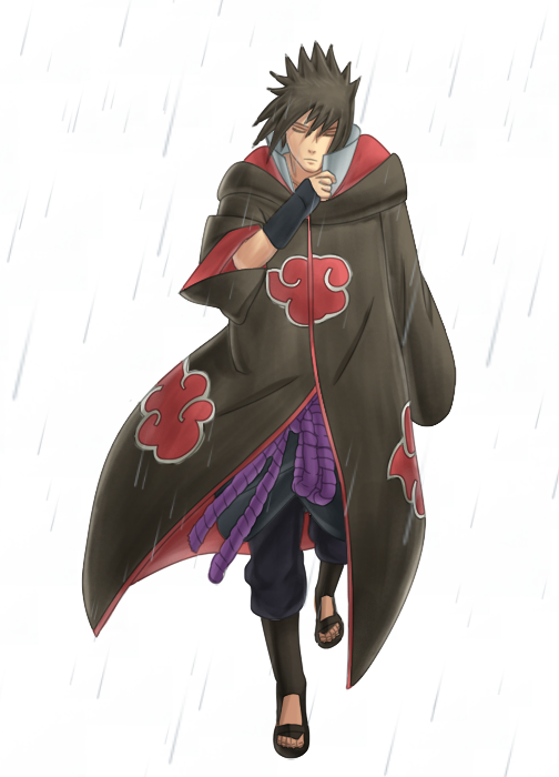 409___Sasuke_in_Akatsuki_Robe_by_KALiZU
